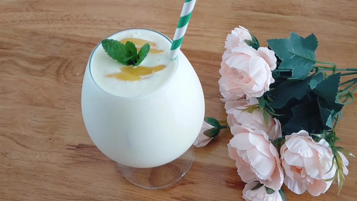 cách làm sinh tố mít sữa tươi 4