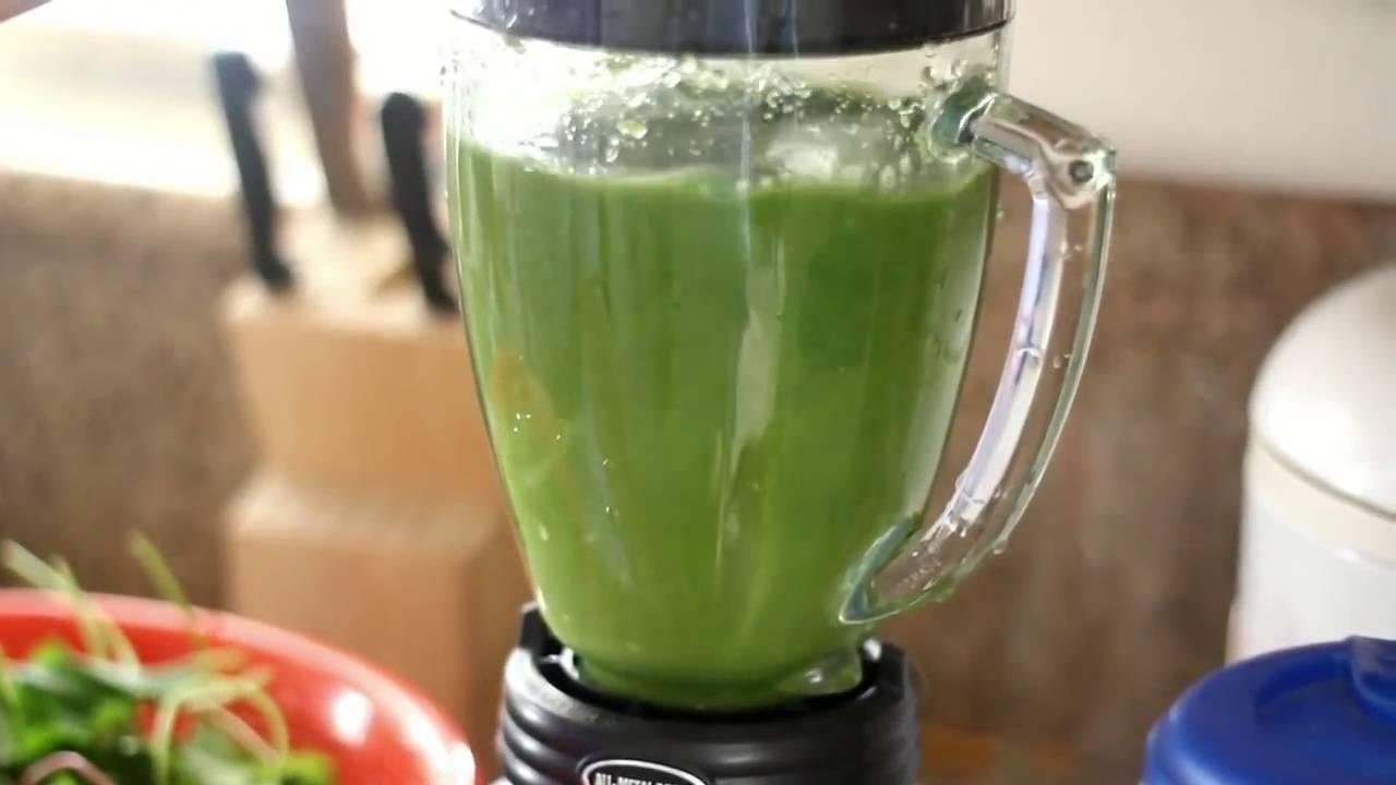 cách làm sinh tố rau má đậu xanh sữa dừa 2