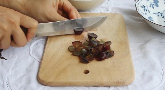 cách làm thạch hoa quả nước cốt dừa 4