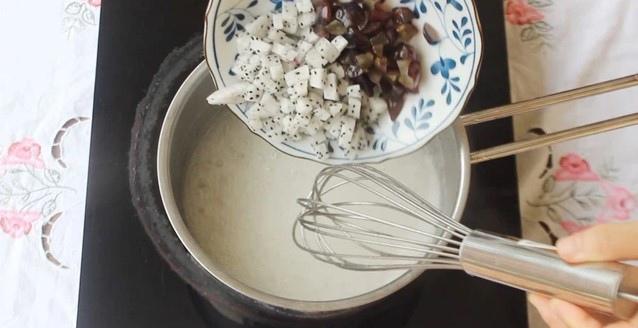 cách làm thạch hoa quả nước cốt dừa 5