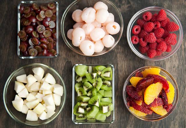 cách làm thạch hoa quả ngũ sắc 1