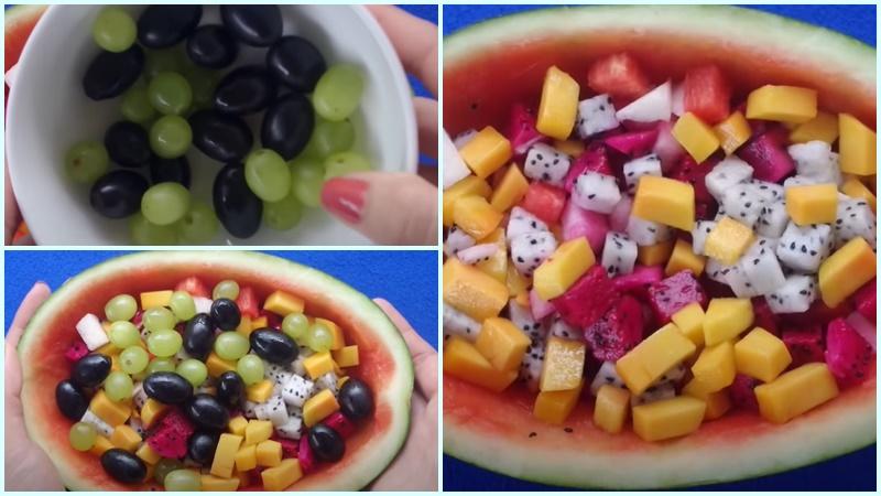cách làm thạch rau hoa quả 5