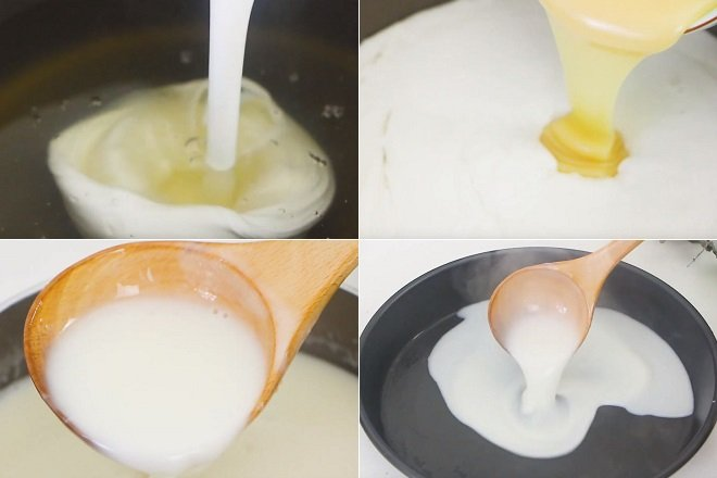 cách làm rau câu sơn thuỷ từ bột agar 3