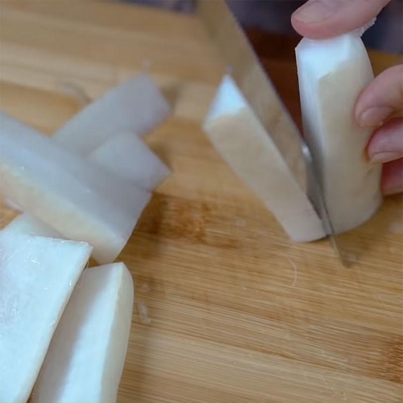 Cách muối củ cải trắng 3