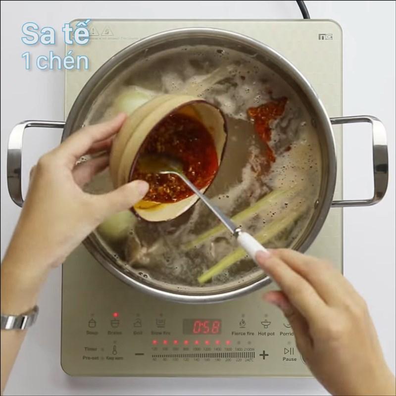 Cách nấu bún bò Đà Lạt 9