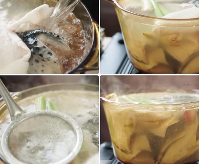 cách nấu bún chả cá 5