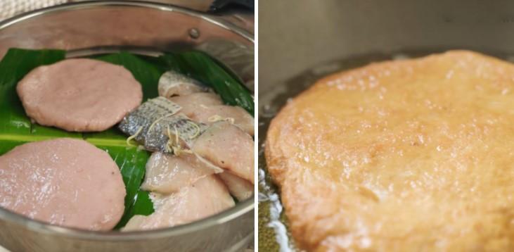 cách nấu bún chả cá 7
