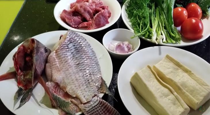cách nấu bún cá 2