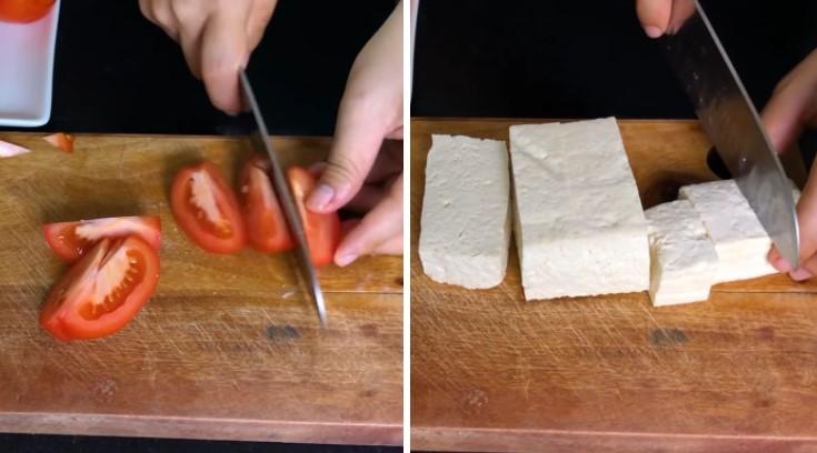 cách nấu bún riêu tôm 4