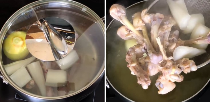 cách nấu bún riêu tôm 7