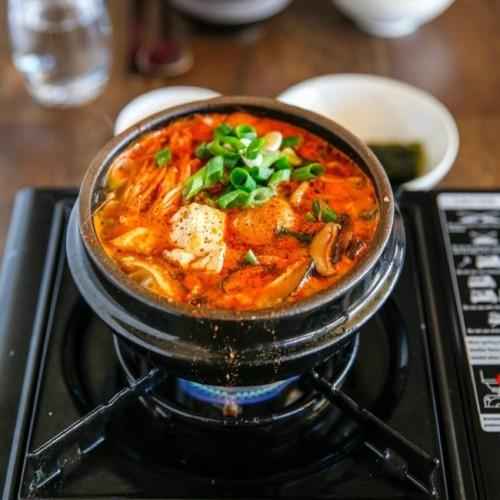 Cách nấu canh đậu hũ non Hàn Quốc 1