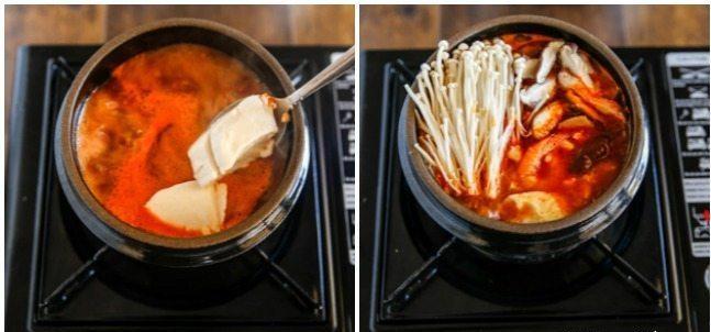 Cách nấu canh đậu hũ non Hàn Quốc 7