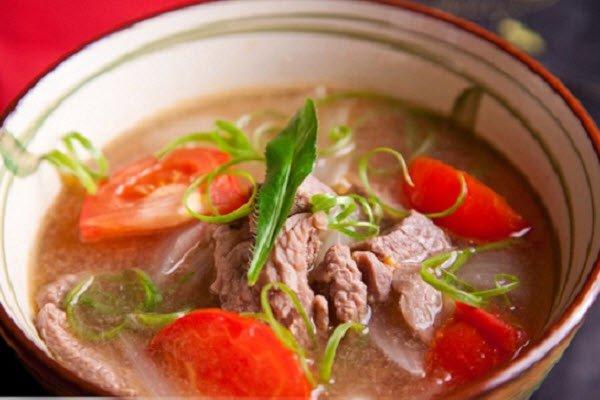 Cách nấu canh thịt bò 1