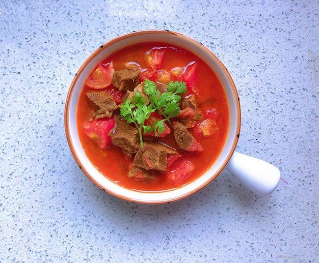 Cách nấu canh thịt bò 2
