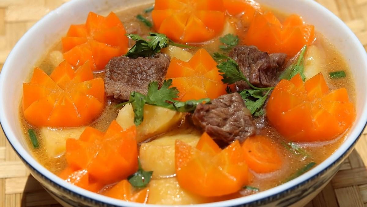 Cách nấu canh thịt bò 7