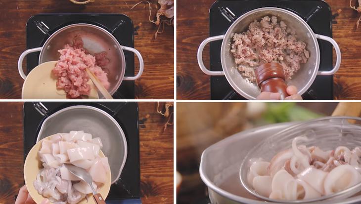 Cách nấu hủ tiếu mực 5