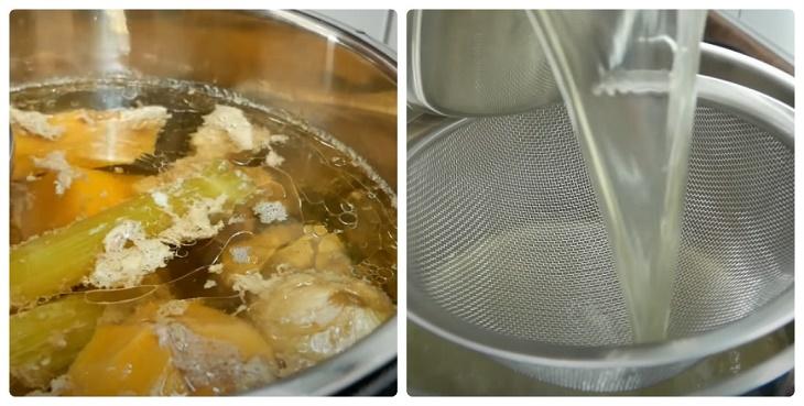 Cách nấu hủ tiếu sườn heo 7