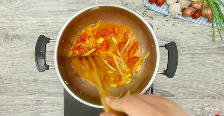 Cách nấu lẩu cá bớp 4