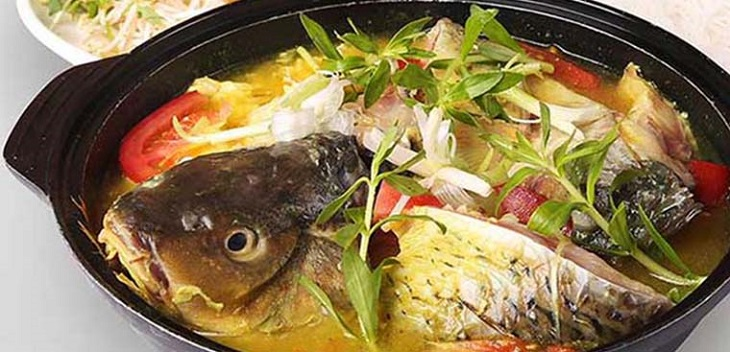 Cách nấu lẩu cá chép 1