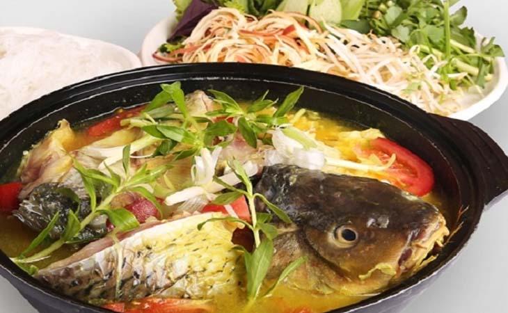 Cách nấu lẩu cá chép 7