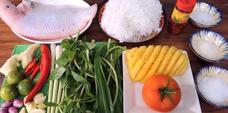 Cách nấu lẩu cá diêu hồng 2