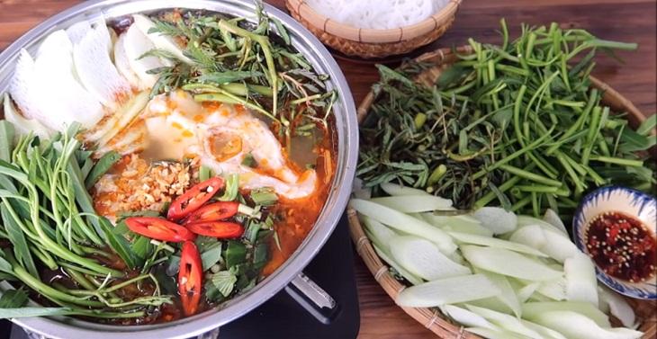 Cách nấu lẩu cá diêu hồng 7