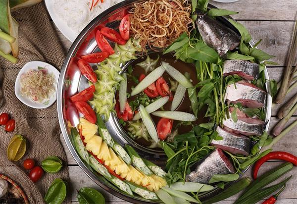 Cách nấu lẩu cá lóc 2