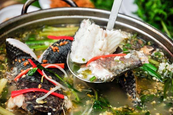 Cách nấu lẩu cá lóc 3