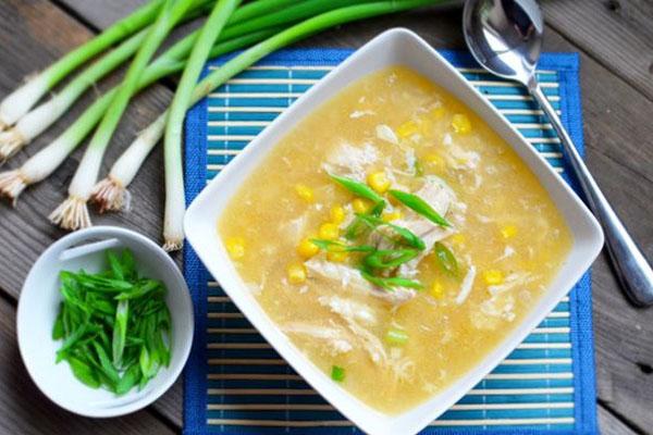 Cách nấu súp gà 6