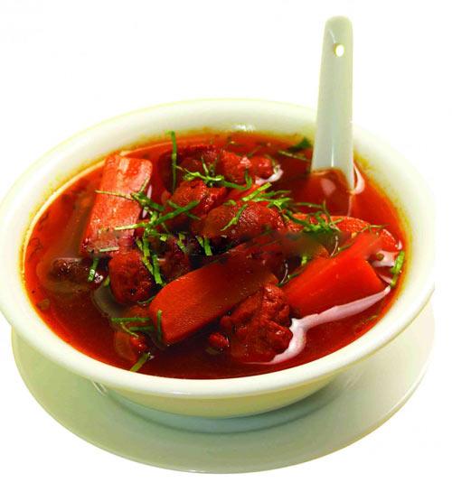 Củ cải đỏ nấu món gì 9