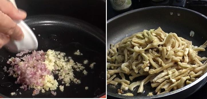 củ cải khô xào chay