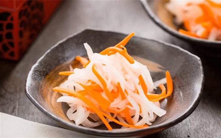củ cải muối chua 1