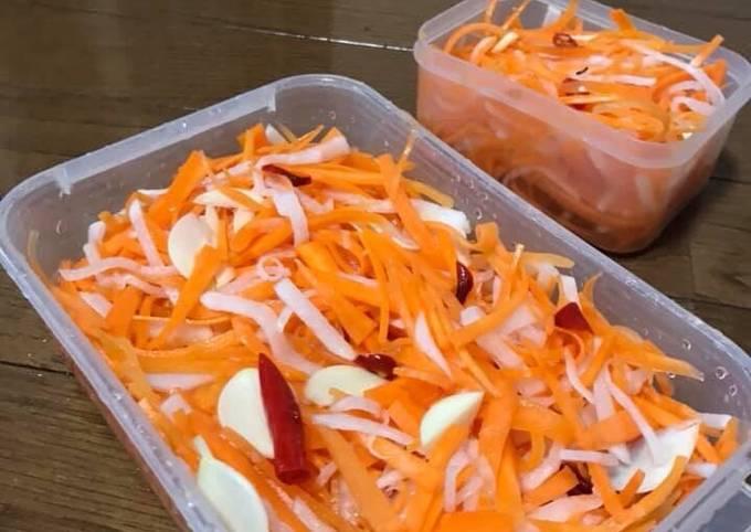 củ cải muối chua 6