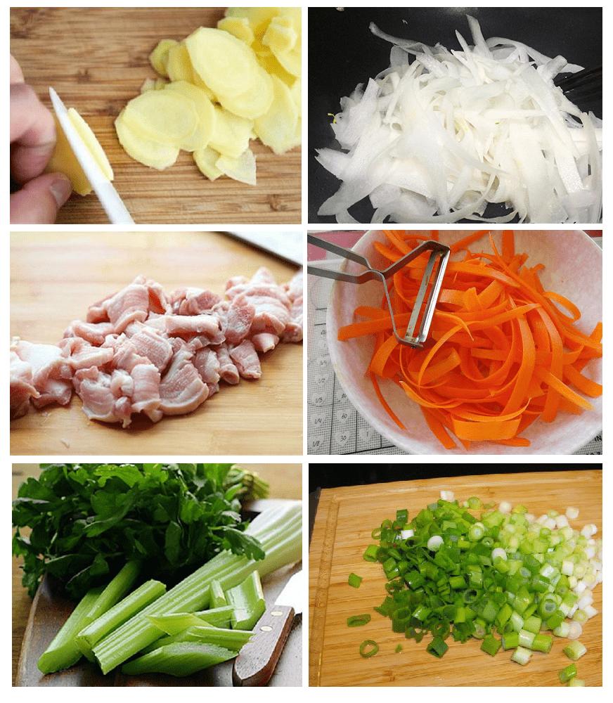 củ cải trắng xào