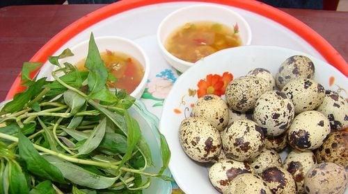 Luộc trứng cút lộn 1