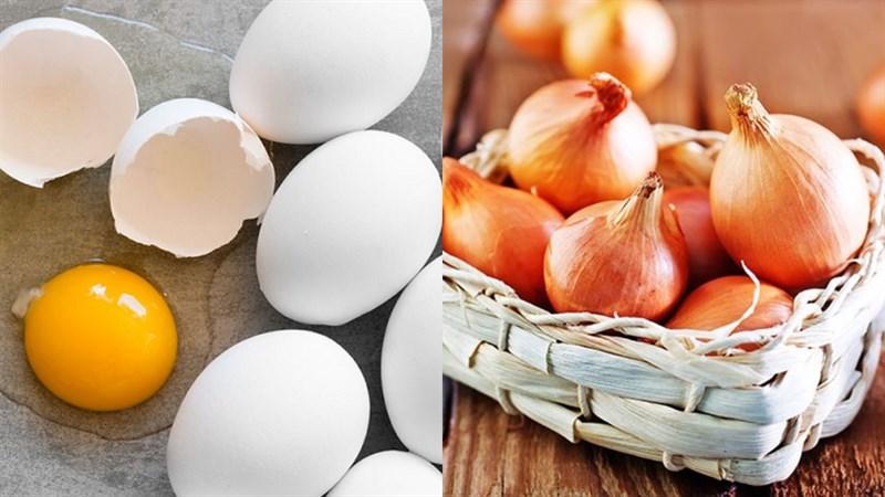 Trứng chiên hành tây 2