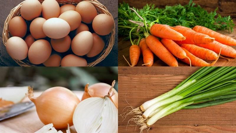 Trứng chiên rau củ 2