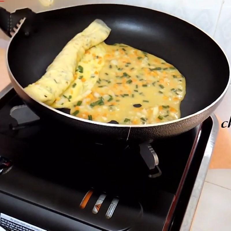 Trứng chiên rau củ 6