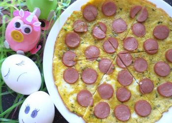Trứng chiên xúc xích 1