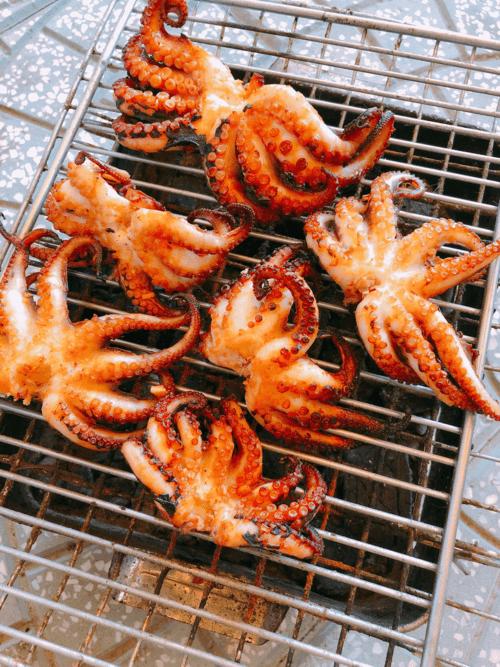 Cách làm bạch tuộc nướng 3