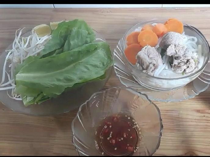 Cách làm bánh canh giò heo 7