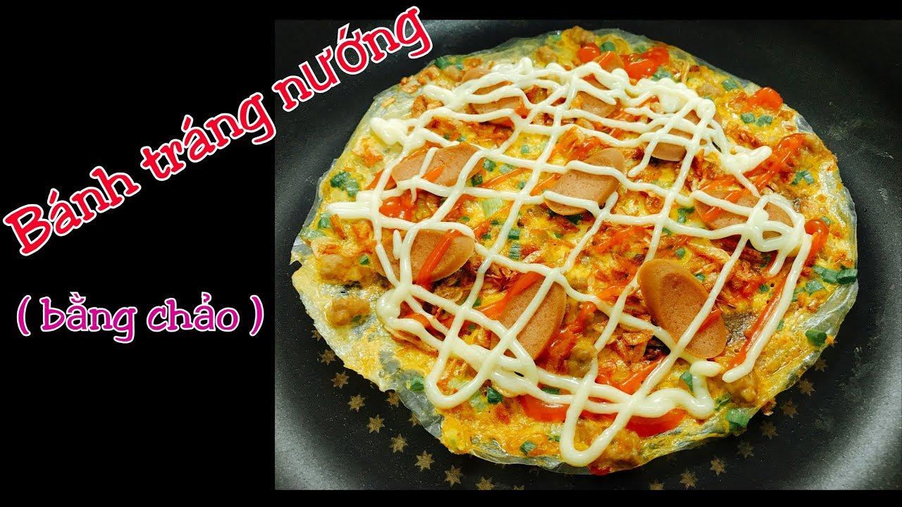 Cách làm bánh tráng nướng 4