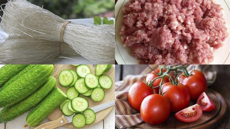 Cách làm miến trộn chua ngọt 2