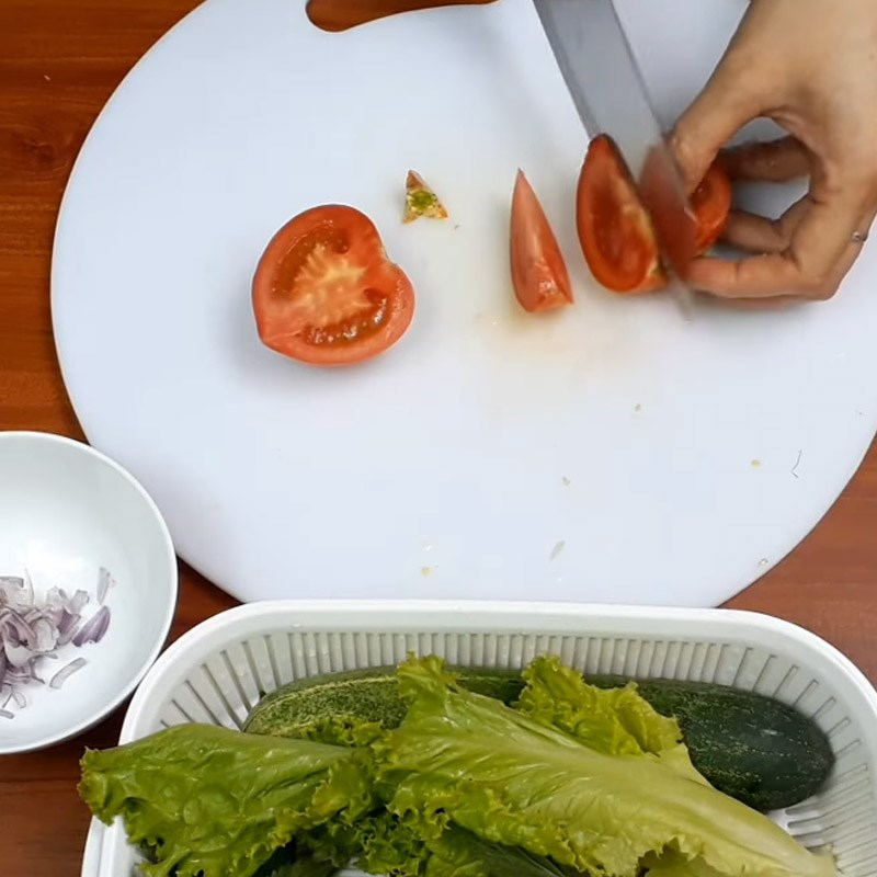 Cách làm miến trộn chua ngọt 5
