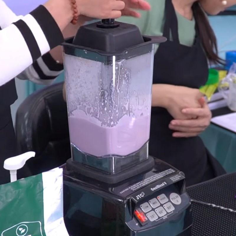 Cách làm trà sữa khoai môn 6