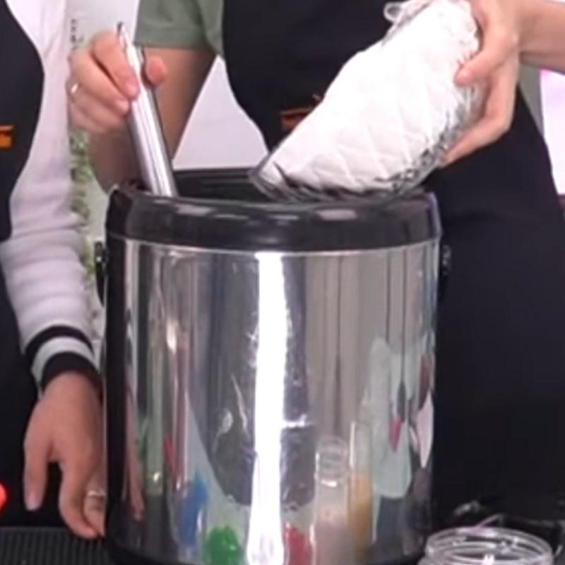 Cách làm trà sữa khoai môn 7
