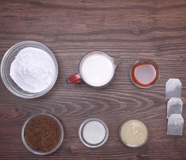Cách làm trà sữa nướng 2