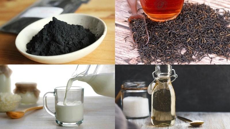 Cách làm trà sữa than tre 2