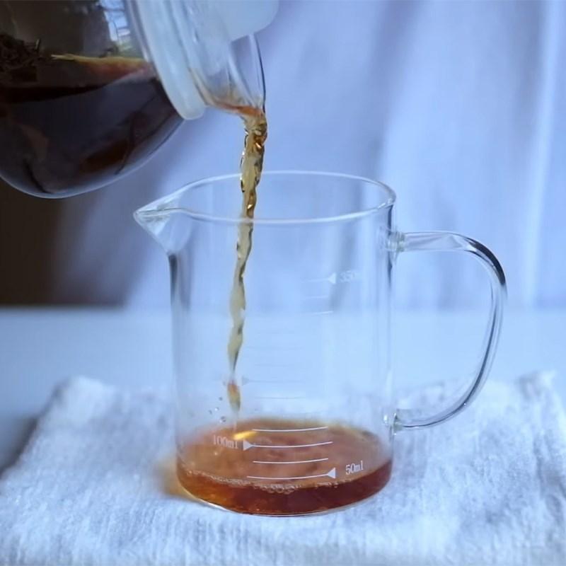 Cách làm trà sữa than tre 4