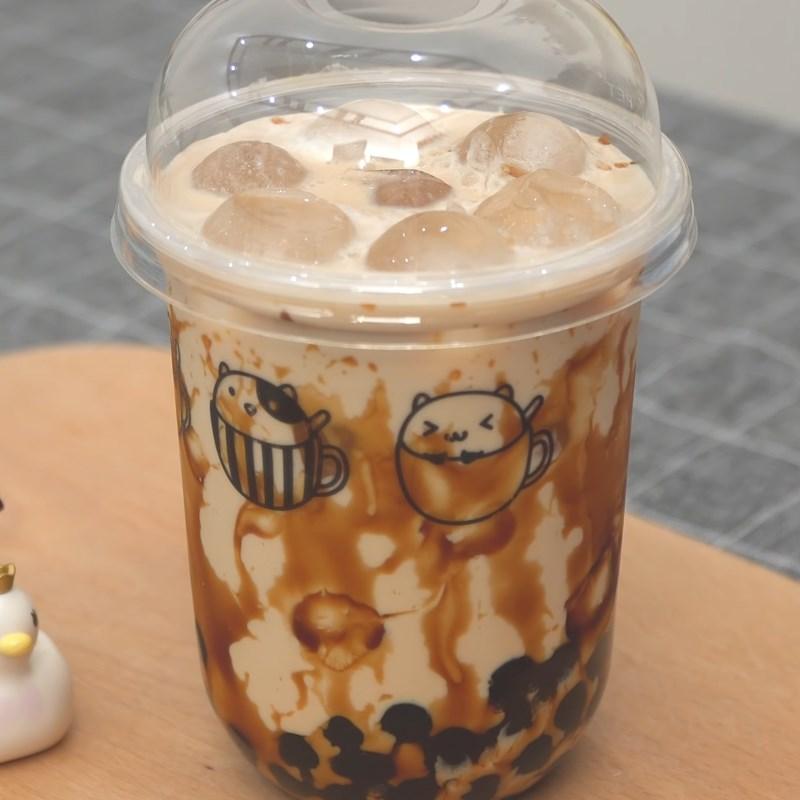 Cách làm trà sữa trân châu đường đen 13